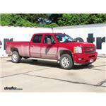 Front Mount Trailer Hitch Installation - 2014 Chevrolet Silverado 3500