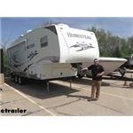 Gen-Y Hitch Shock Absorbing 5th Wheel to Gooseneck Pin Box Install - 2007 Starcraft Homestead Lite F