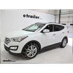 Glacier Cable Snow Tire Chains Review - 2014 Hyundai Santa Fe
