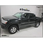 Glacier Light Truck Cable Snow Tire Chains Review - 2010 Toyota Tacoma