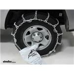 Glacier V-Bar Snow Tire Chains with Cam Tighteners Installation - 2018 Toyota Tacoma