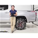 Glacier Cable Snow Tire Chains Installation - 2020 Toyota Tacoma