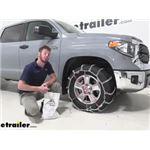Glacier V-Bar Snow Tire Chains Installation - 2020 Toyota Tundra
