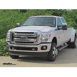 Gooseneck Trailer Hitch Installation - 2012 Ford F-350