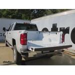 B and W Gooseneck Trailer Hitch Installation - 2015 Chevrolet Silverado 2500