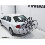 Hollywood Racks Expedition Trunk Bike Rack Review - 2010 Chevrolet Cobalt