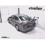 Hollywood Racks Baja 2 Trunk Bike Rack Review - 2009 Nissan Altima