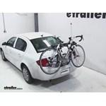 Hollywood Racks Baja 2 Trunk Bike Rack Review - 2010 Chevrolet Cobalt