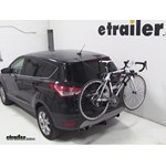 Hollywood Racks Baja 2 Trunk Bike Rack Review - 2013 Ford Escape