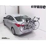 Hollywood Racks Baja 2 Trunk Bike Rack Review - 2013 Hyundai Elantra