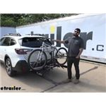 Hollywood Racks Hitch Bike Racks Review - 2021 Subaru Outback Wagon