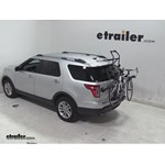 Hollywood Racks Over-the-Top Bike Rack Review - 2013 Ford Explorer
