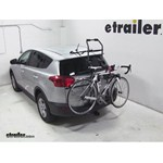 Hollywood Racks Over-the-Top Bike Rack Review - 2013 Toyota RAV4