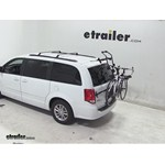 Hollywood Racks Over-the-Top Bike Rack Review - 2014 Dodge Caravan