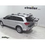 Hollywood Racks Over-the-Top Bike Rack Review - 2014 Dodge Journey