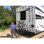 Hollywood Racks RV and Camper Bike Racks Review - 2022 Jayco Greyhawk Motorhome