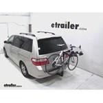 Hollywood Racks Traveler Hitch Bike Rack Review - 2006 Honda Odyssey
