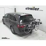 Hollywood Racks Traveler Hitch Bike Rack Review - 2013 Honda Odyssey