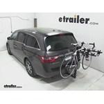Hollywood Racks Traveler 5 Hitch Bike Rack Review - 2013 Honda Odyssey