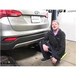 Hopkins Plug-In Simple Wiring Harness Installation - 2013 Hyundai Santa Fe
