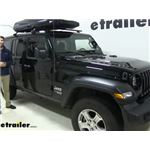 Inno Shadow 16 Rooftop Cargo Box Review - 2020 Jeep Wrangler Unlimited