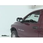 K-Source Custom Towing Mirrors Installation - 2003 Dodge Ram 2500