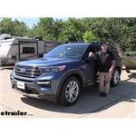 K Source Universal Clip-On Towing Mirror Installation - 2020 Ford Explorer