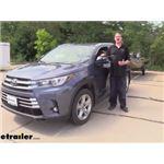 K Source Universal Clip-On Towing Mirror Installation - 2019 Toyota Highlander