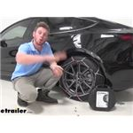 Konig Standard Snow Tire Chains Installation - 2020 Tesla Model 3