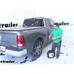 Konig Self-Tensioning Snow Tire Chains Installation - 2012 Ram 1500