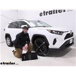Konig Premium Self-Tensioning Snow Tire Chains Installation - 2019 Toyota RAV4