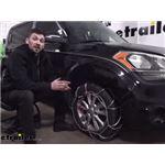 Konig Self-Tensioning Snow Tire Chains Installation - 2012 Kia Soul