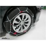 Konig Standard Snow Tire Chains Review - 2016 Toyota Camry