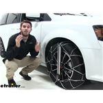 Konig Self-Tensioning Low-Pro Snow Tire Chains Installation - 2019 Dodge Grand Caravan