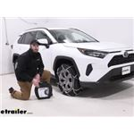 Konig Standard Snow Tire Chains Installation - 2019 Toyota RAV4