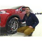 Konig Self-Tensioning Snow Tire Chains Installation - 2020 Hyundai Santa Fe