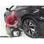 Konig Self-Tensioning Snow Tire Chains Installation - 2017 Nissan Murano