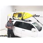 Kuat J-Style Class 2 Kayak Carrier with Tie-Downs Installation - 2007 Toyota 4Runner
