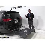 Lets Go Aero Hitch Cargo Carrier Review - 2020 Chrysler Pacifica