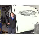 Lippert JTs Strong Arm Jack Stabilizer Kit Installation - 2011 Forest River Surveyor Travel Trailer