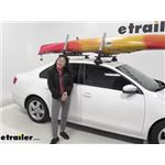 Lockrack Adjustable XL Watersport Carrier Review - 2013 Volkswagen Jetta