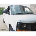 Longview Custom Towing Mirrors Installation - 2011 Chevrolet Express Van