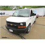 Longview Custom Towing Mirrors Installation - 2016 Chevrolet Express Van
