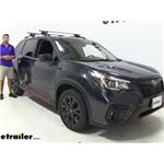 Malone AirFlow2 Universal Roof Rack Installation - 2019 Subaru Forester