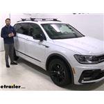 Malone AirFlow2 Universal Roof Rack Installation - 2019 Volkswagen Tiguan