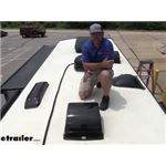MaxxAir Standard RV and Trailer Roof Vent Cover Installation - 2015 Dynamax Force HD Motorhome