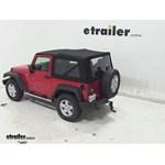 MaxxTow Adjustable-Height Ball Mount Review - 2013 Jeep Wrangler