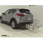 MaxxTow Aluminum Hitch Cargo Carrier Review - 2015 Mazda CX-5