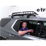 MaxxTow Roof Mounted Cargo Basket Review - 2020 Chevrolet Traverse