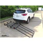 MaxxTow Hitch Cargo Carrier Review - 2016 Mazda CX-5